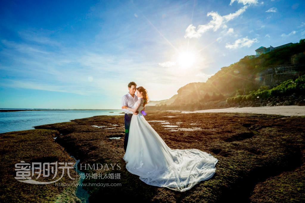 巴厘岛水之教堂婚礼婚纱照片(LY+SJW)