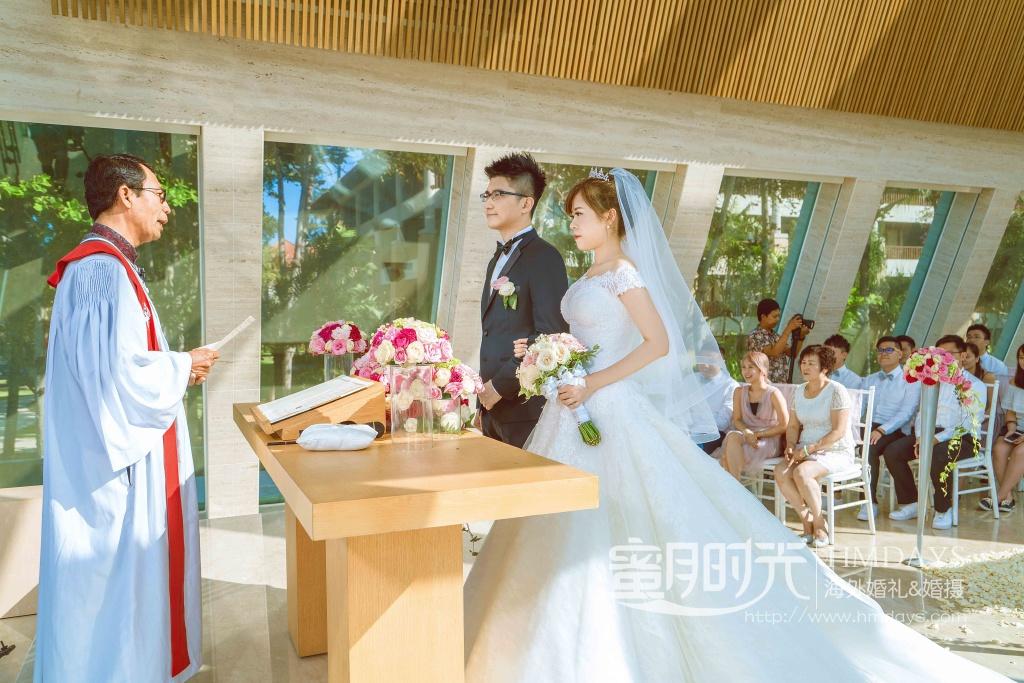 无限教堂婚礼+floating garden晚宴|港丽无限教堂婚礼仪式|海外婚礼