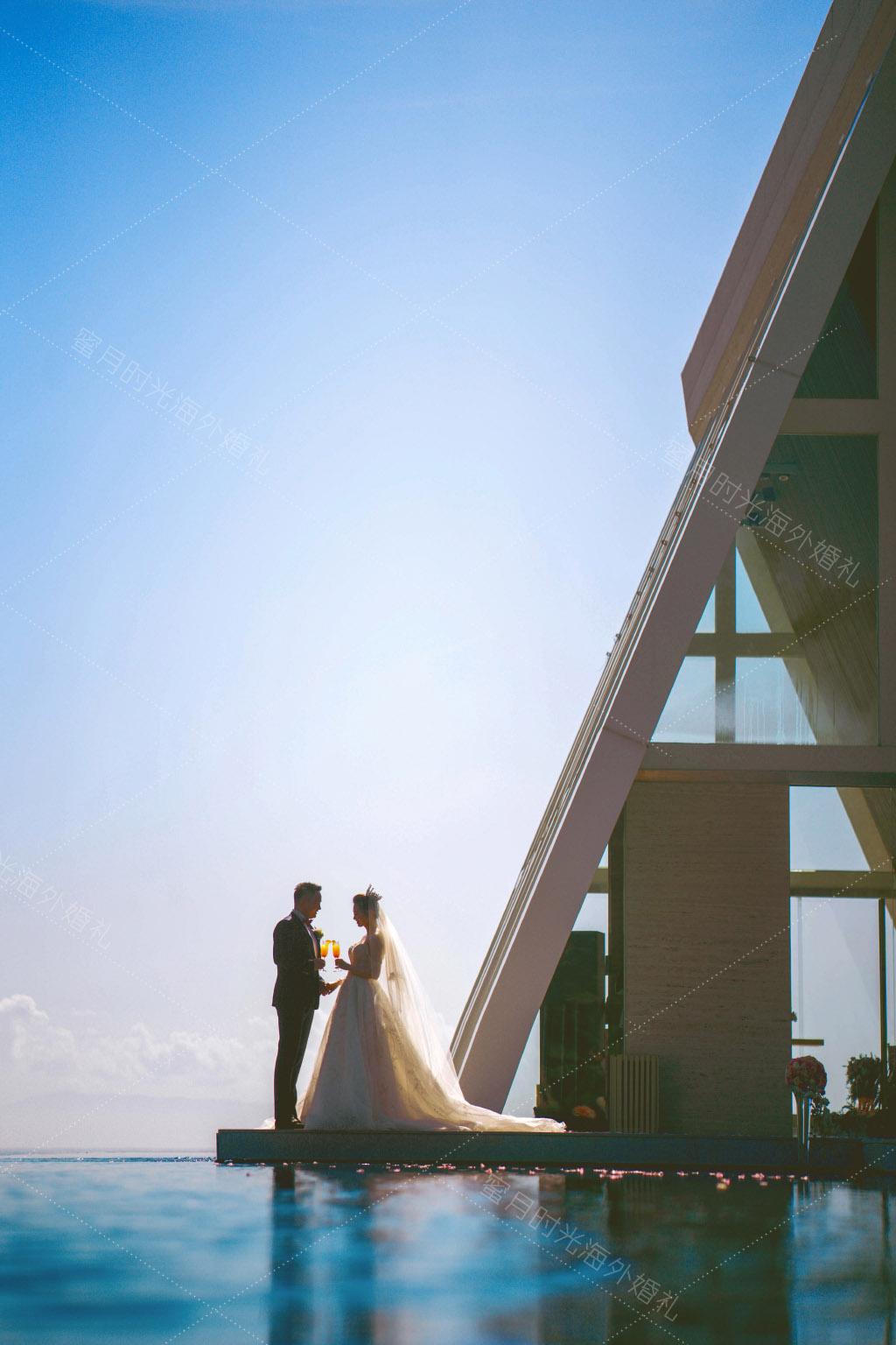 港丽无限教堂婚礼+升级布置|大片即视感了|海外婚礼