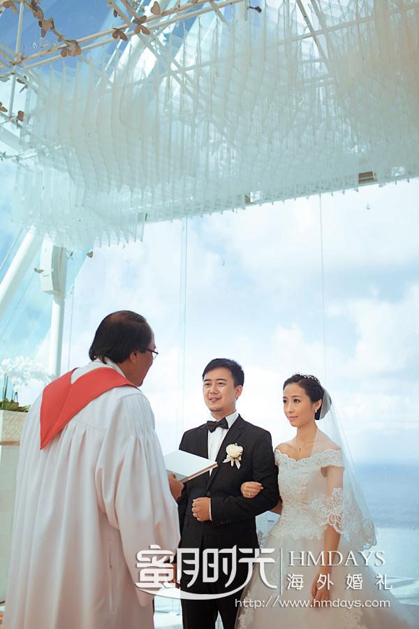 水之教堂婚礼 巴厘岛海岛婚礼之水之教堂 海外婚礼