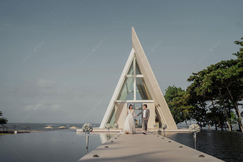 巴厘岛港丽无限教堂婚礼||海外婚礼