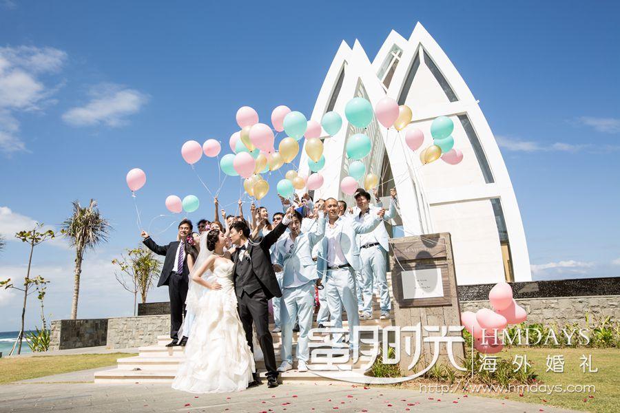 丽思卡尔顿教堂婚礼和晚宴 伊龙名人婚礼 海外婚礼