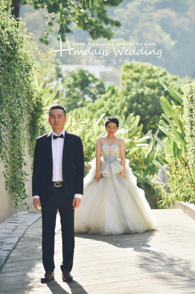 普吉岛卡马拉婚礼+定制布置+晚宴|紧张的等待着我的小公主|海外婚礼