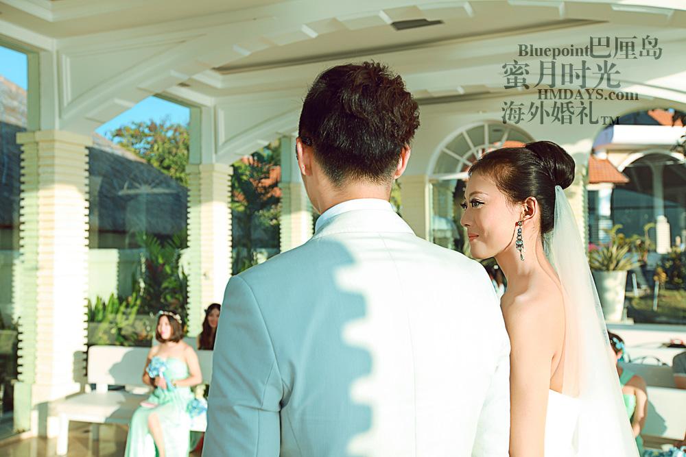 巴厘岛蓝点教堂婚礼--17:30档|开心,激动~|海外婚礼