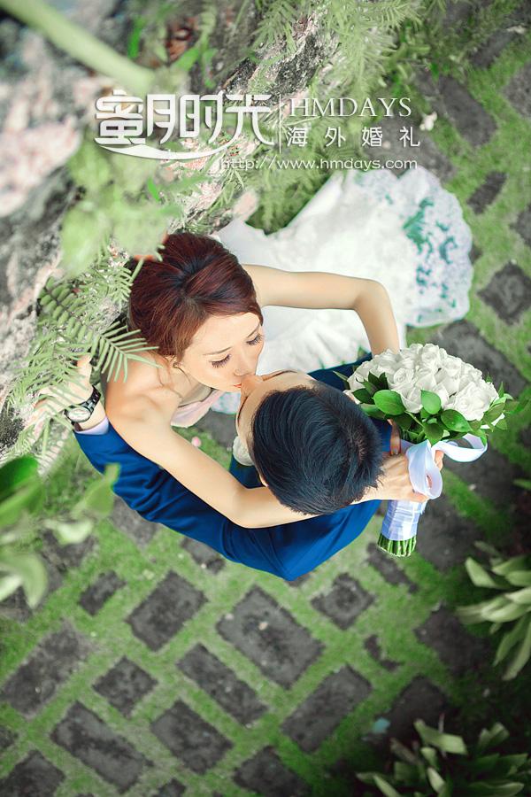 巴厘岛宝格丽水上婚礼|海外婚礼|海外婚纱摄影|照片
