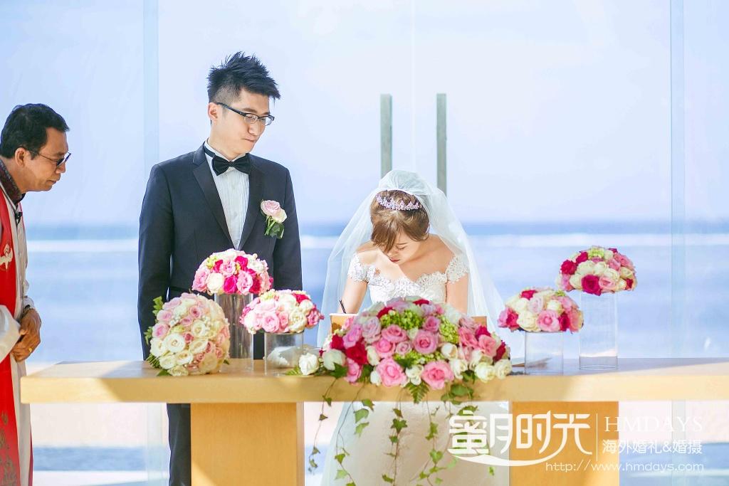 无限教堂婚礼+floating garden晚宴|婚礼签字仪式|海外婚礼