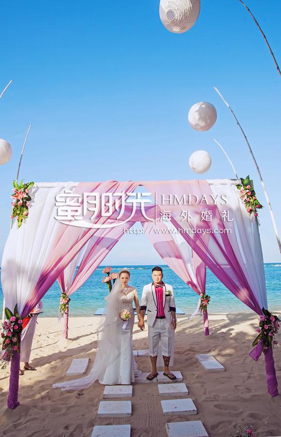 威斯汀沙滩婚礼|巴厘岛婚礼|海外婚礼