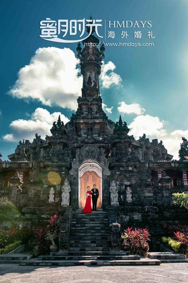 水之教堂婚礼+次日全天外景|巴厘岛雷诺宫殿婚纱照拍摄|海外婚礼