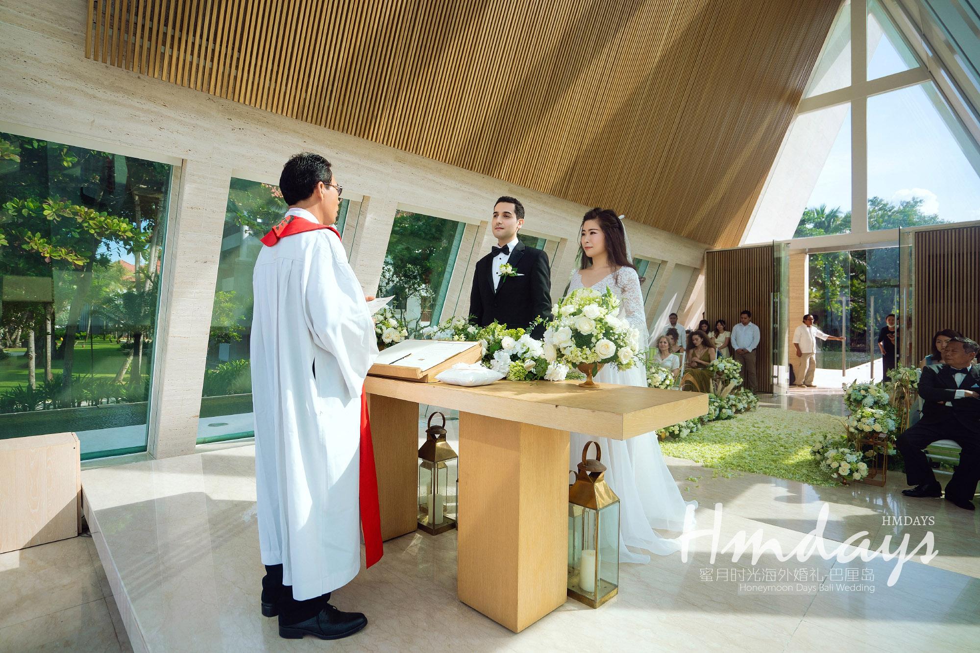 巴厘岛港丽无限教堂教堂||海外婚礼