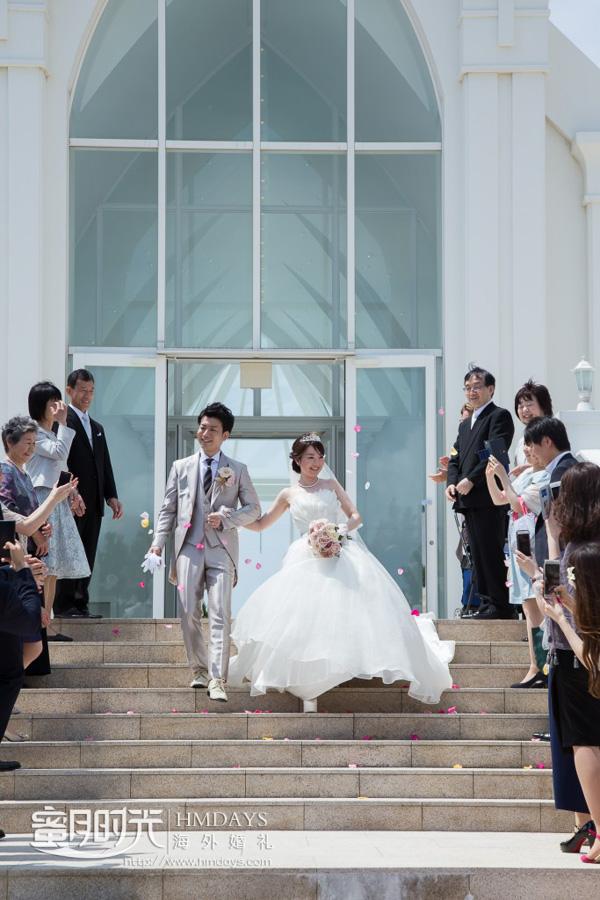 日本冲绳县露梅尔Monterey Lumer Church白色教堂婚礼客片|海外婚礼|海外婚纱摄影|照片
