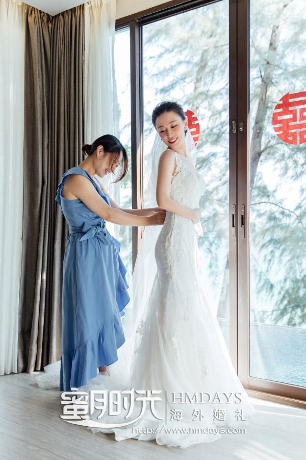 泰国普吉岛铂尔曼(pullman)婚礼婚纱照片|今天我要做个美丽的新娘|海外婚礼