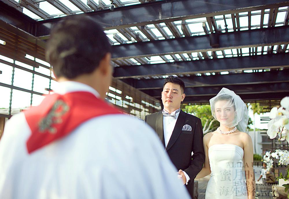阿丽拉ALILA黄昏婚礼|婚礼仪式进行中|海外婚礼
