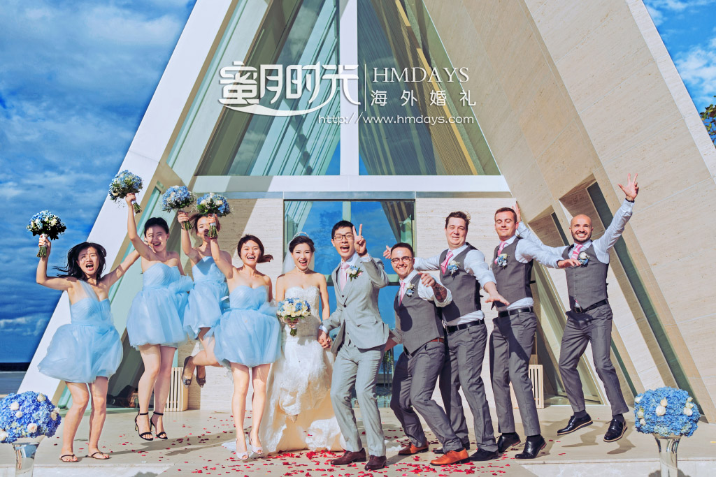 巴厘岛无限教堂婚礼+升级婚礼晚宴 海外婚礼 海外婚纱摄影 照片