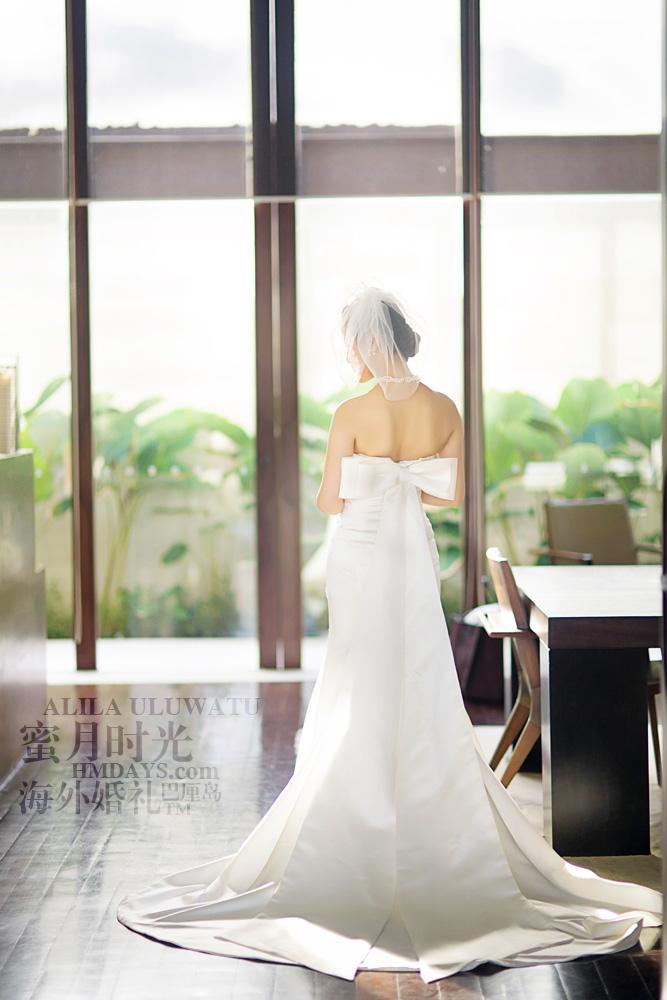 阿丽拉ALILA黄昏婚礼|最美的新娘背影|海外婚礼