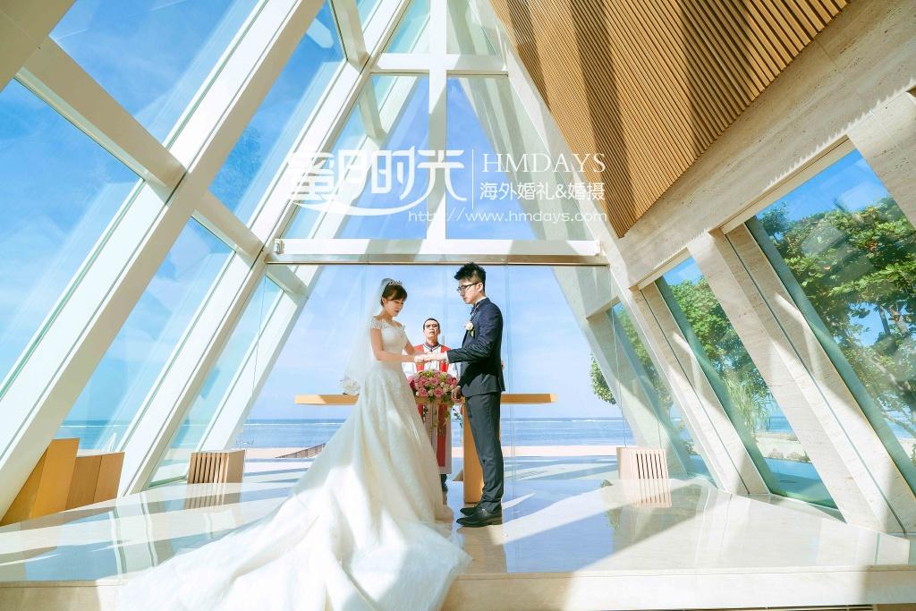 无限教堂婚礼+floating garden晚宴|巴厘岛无线教堂|海外婚礼