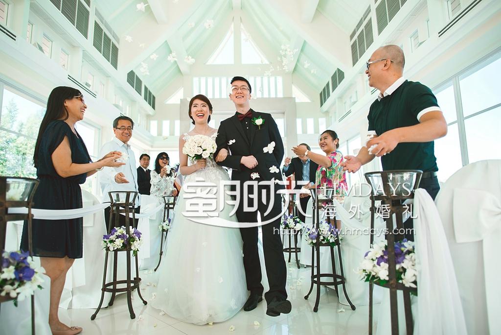 普吉岛拉古娜教堂婚礼客片