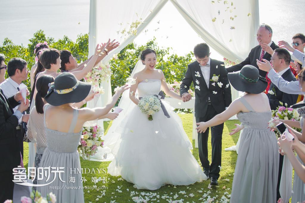 普吉岛帕瑞沙(paresa)酒店婚礼婚纱照