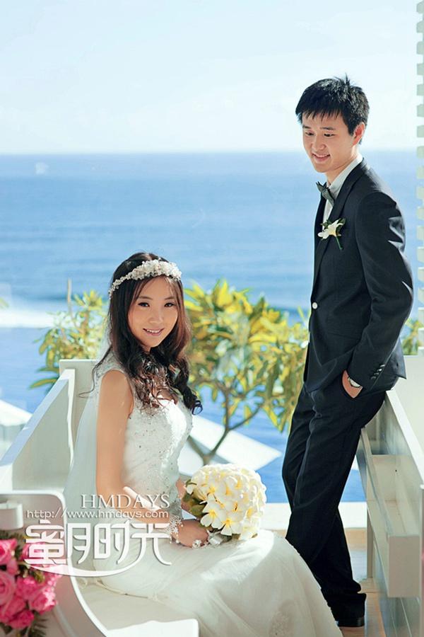 巴厘岛蓝点教堂婚礼婚纱照|我愿与你,白头偕老|海外婚礼