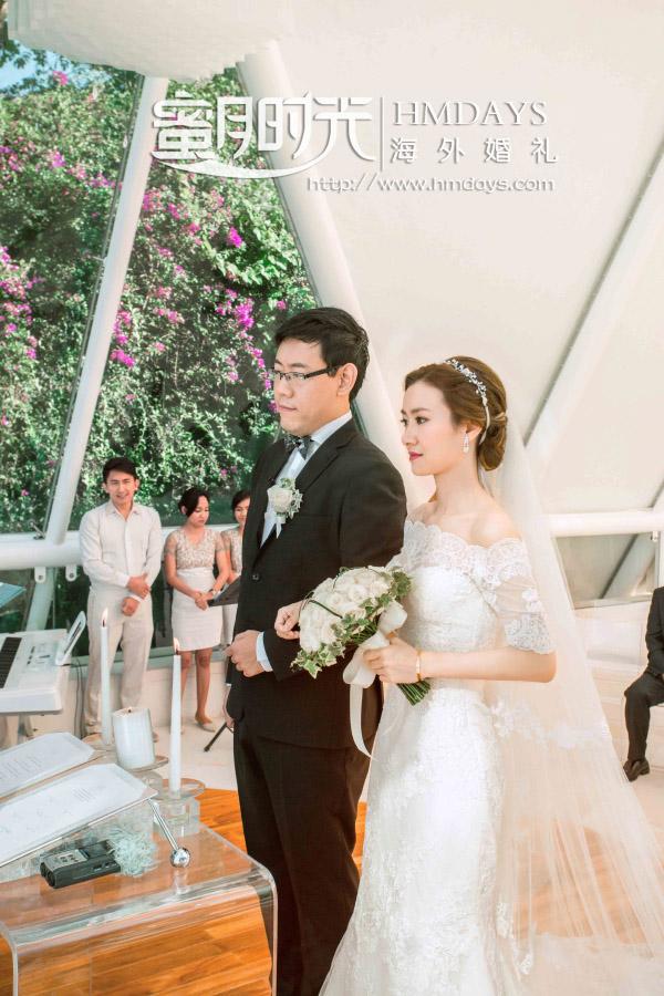 水之教堂婚礼+次日全天外景|tirtha巴厘岛婚礼仪式中|海外婚礼