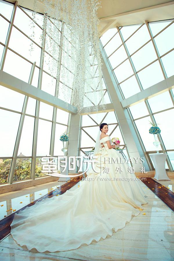 巴厘岛珍珠小教堂婚礼+外景|海外婚礼|海外婚纱摄影|照片