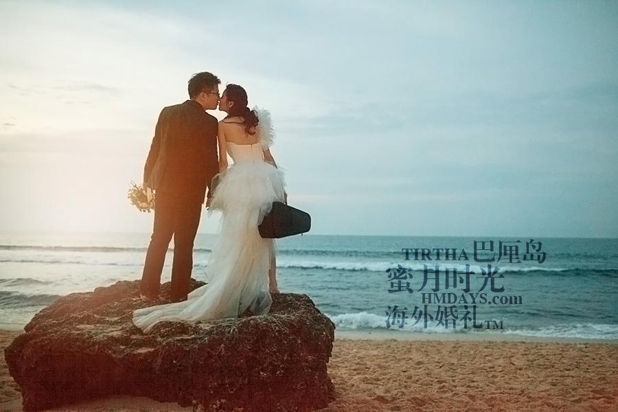 巴厘岛水之教堂婚礼+巴厘岛半日外景婚纱摄影|海外婚礼,KISS,SUNSET|海外婚礼