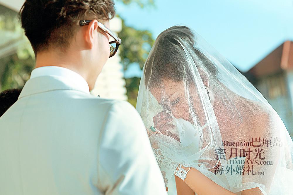 巴厘岛蓝点教堂婚礼--17:30档|感动|海外婚礼