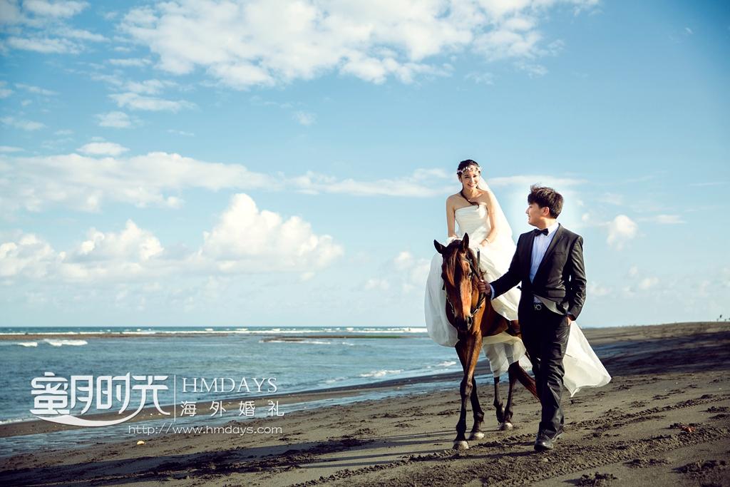 巴厘岛珍珠教堂婚礼加外景跟拍|去巴厘岛黑沙滩拍婚纱照|海外婚礼