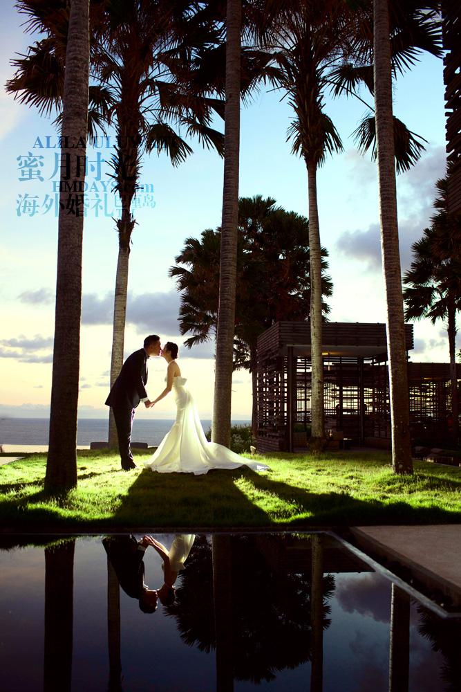 阿丽拉ALILA黄昏婚礼|巴厘岛婚礼黄昏外景拍摄|海外婚礼