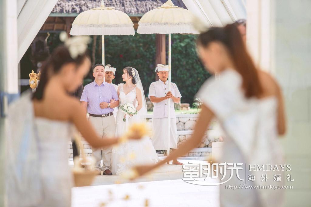巴厘岛水之教堂婚礼|海外婚礼|海外婚纱摄影|照片