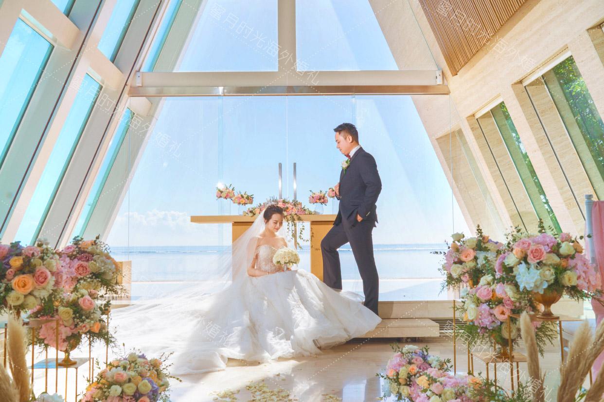 港丽无限教堂婚礼+升级布置|婚礼必备之凹造型|海外婚礼