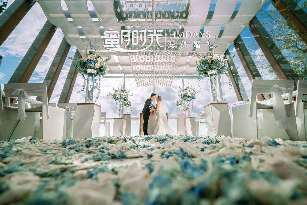巴厘岛水晶教堂婚礼