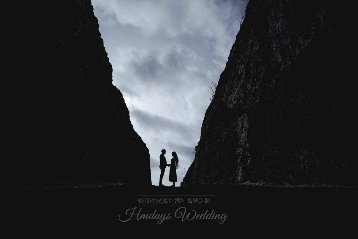 巴厘岛水之教堂婚礼照片