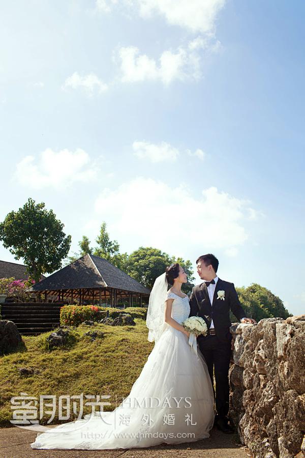 水之教堂婚礼 水之教堂内部取景 海外婚礼