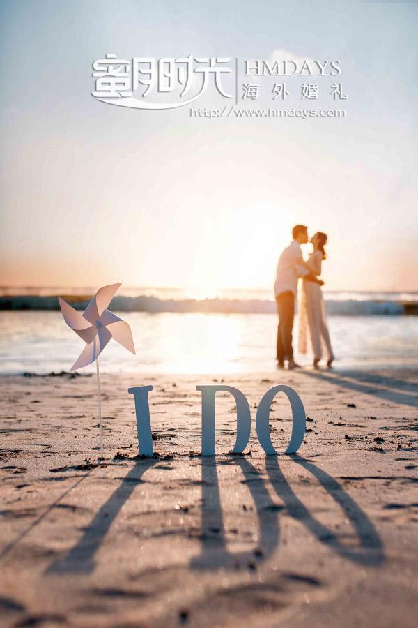 水之教堂婚礼+次日全天外景|巴厘岛沙滩婚纱照逆光美美美|海外婚礼