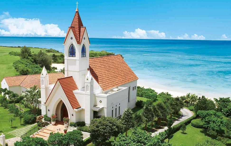 ALIVILA|冲绳星耀(海之耀)教堂婚礼|巴厘岛婚礼|海外婚礼|蜜月时光