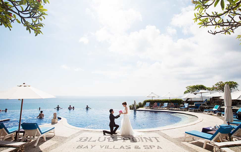 BLUE POINT|巴厘岛蓝点教堂婚礼|巴厘岛婚礼|海外婚礼|蜜月时光
