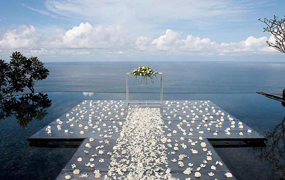 BVLGARI WATER|巴厘岛宝格丽水上婚礼|巴厘岛婚礼|海外婚礼|蜜月时光