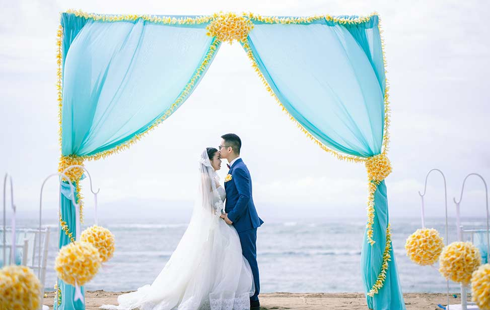 CONRAD BEACH|巴厘岛港丽沙滩婚礼|巴厘岛婚礼|海外婚礼|蜜月时光