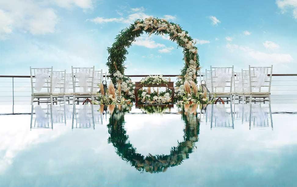 巴厘岛艾吉别墅婚礼