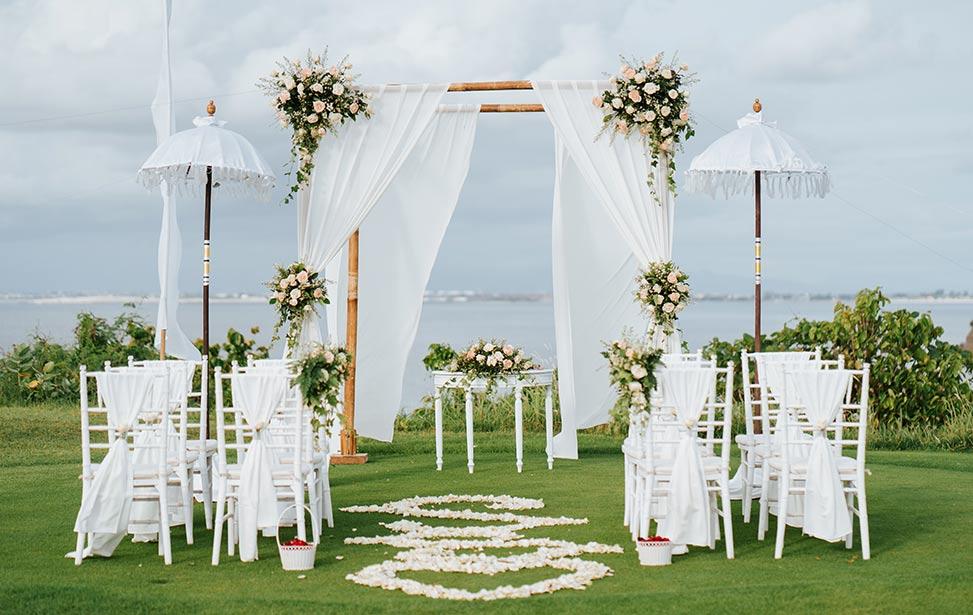 GOLF GRASS|巴厘岛高尔夫海景草坪婚礼|巴厘岛婚礼|海外婚礼|蜜月时光