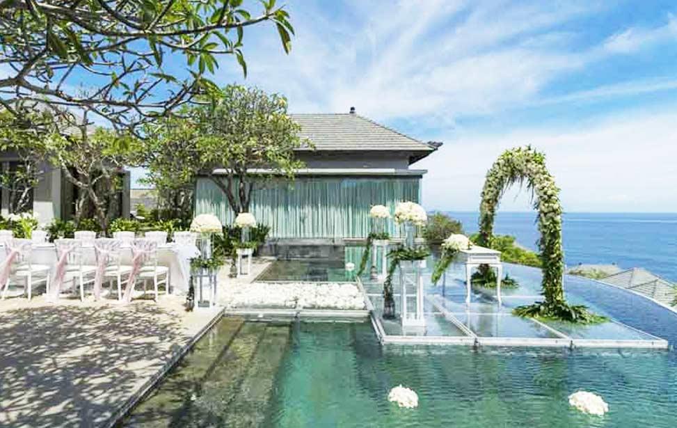 PRESIDENTIAL|巴厘岛悦榕庄总统别墅水台婚礼|巴厘岛婚礼|海外婚礼|蜜月时光