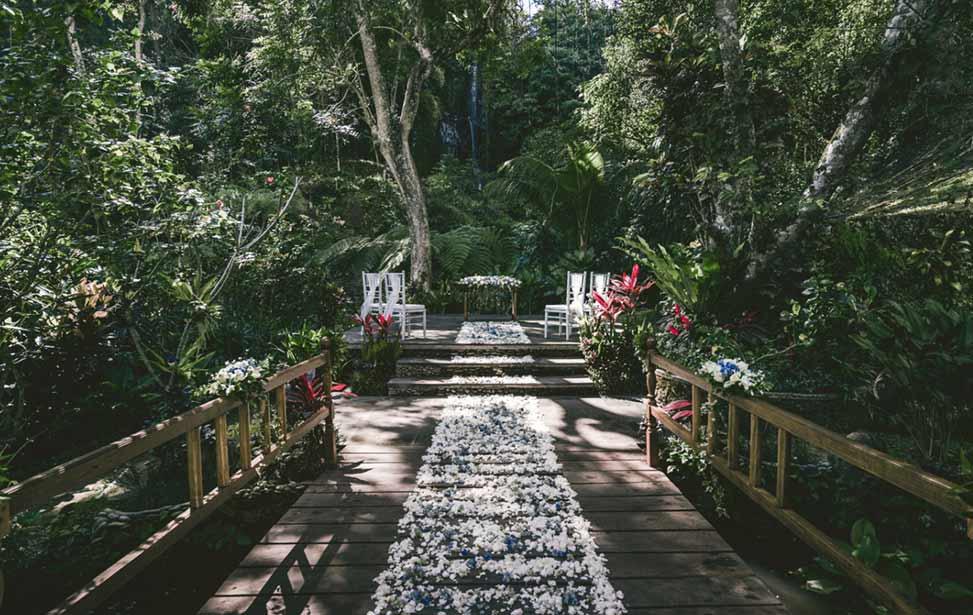 巴厘岛皇家彼得玛哈瀑布婚礼
