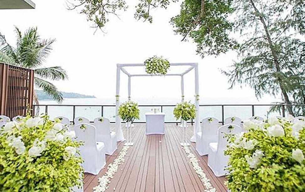 泰国普吉岛铂尔曼海景婚礼 普吉岛铂尔曼婚礼 PULLMAN