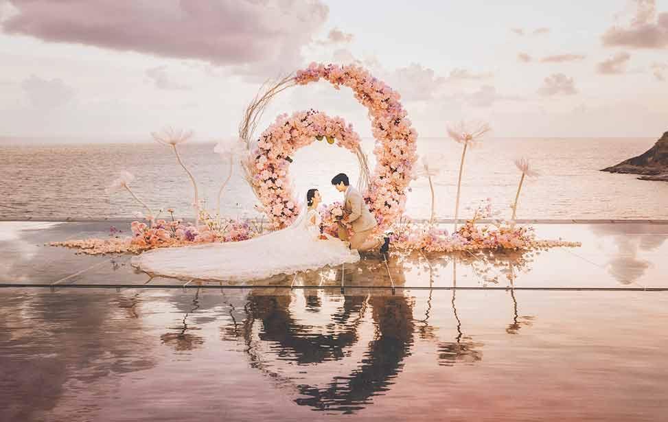 普吉岛天空之城婚礼 THE QASTLE WATER WEDDING PHUKET