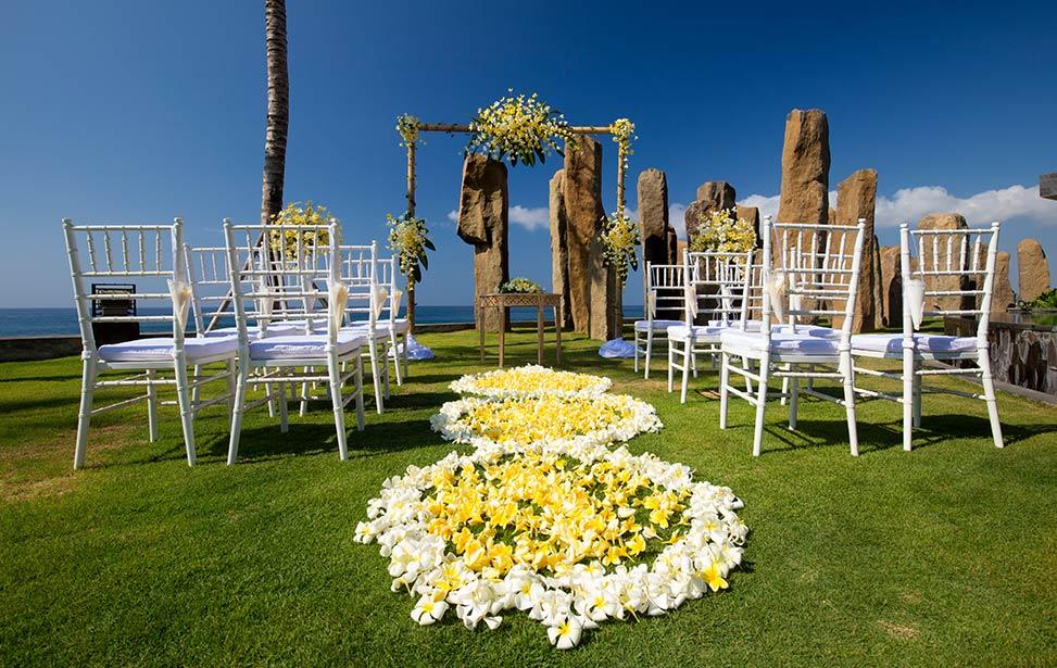 海景悬崖婚礼 巴厘岛皇家普纳玛海景花园婚礼 GARDEN WEDDING AT ROYAL PURNAMA BALI