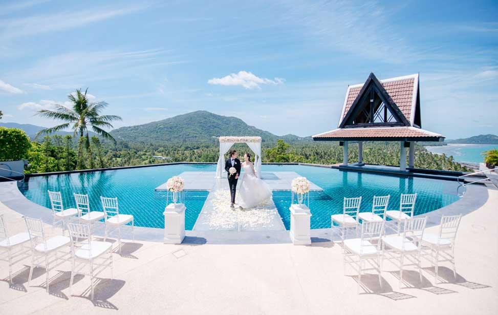 INTERCONTINETIAL|苏梅岛洲际酒店婚礼|巴厘岛婚礼|海外婚礼|蜜月时光