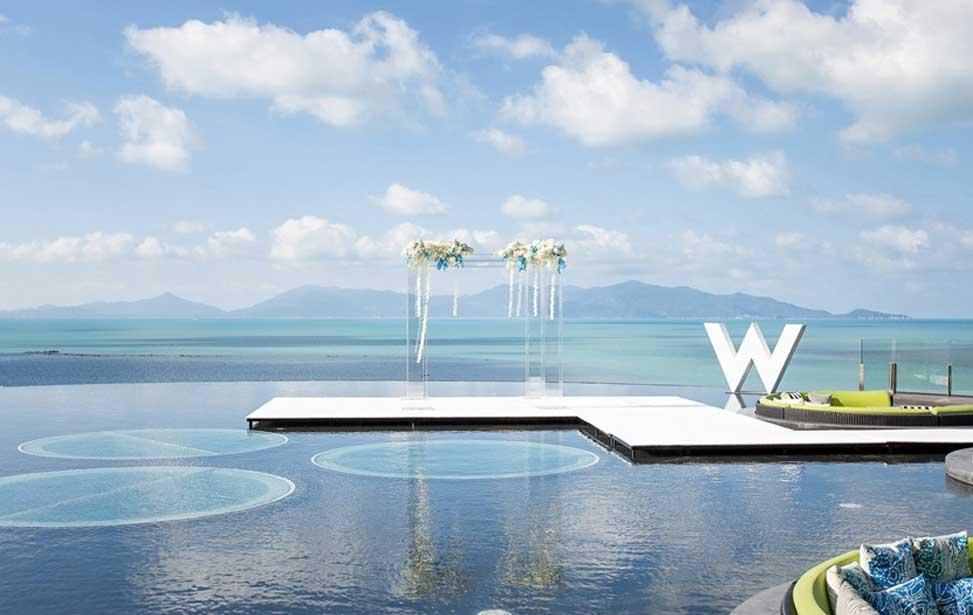 W RETREAT|苏梅岛W婚礼|巴厘岛婚礼|海外婚礼|蜜月时光