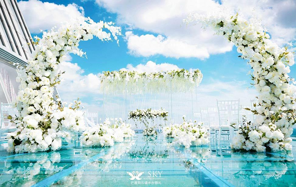 SKY WATER|巴厘岛云镜水台婚礼|巴厘岛婚礼|海外婚礼|蜜月时光
