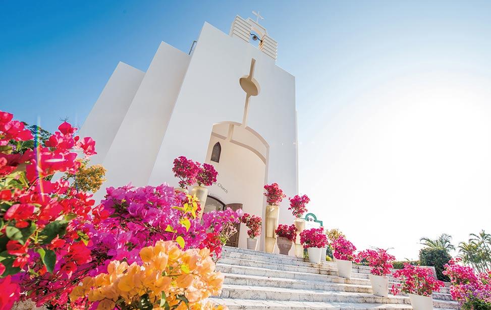 STELAR|冲绳斯黛拉(海之缘)教堂婚礼|巴厘岛婚礼|海外婚礼|蜜月时光