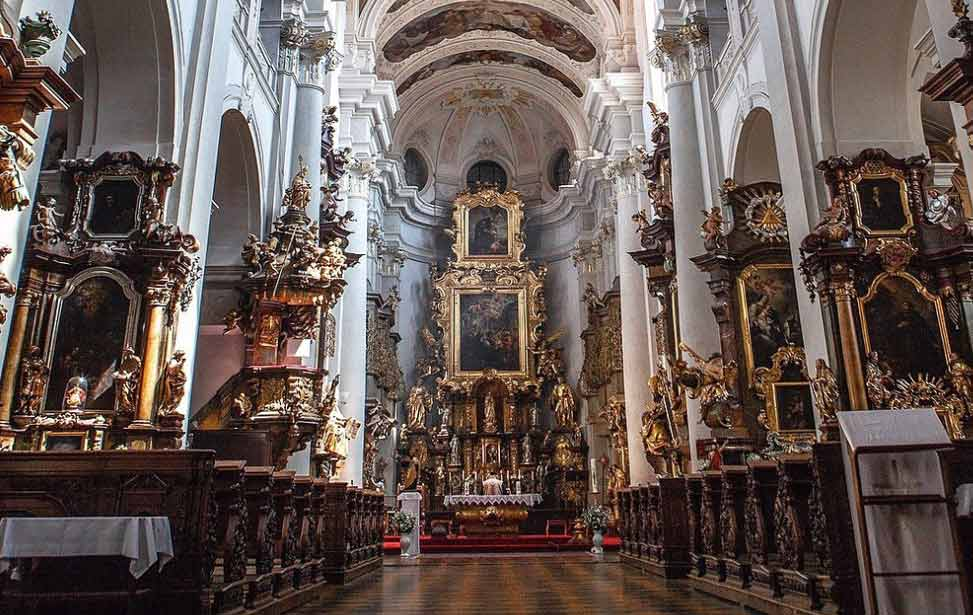 布拉格圣托马斯教堂 ST.THOMAS PRAGUE CHUCH WEDDING